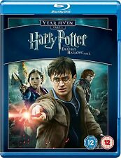 HARRY POTTER AND THE DEATHLY HALLOWS PART 2 YEAR 7 BLU RAY Brand New Sealed UK