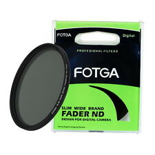 FOTGA Slim Fader Variable Adjustable ND Filter ND2 to ND400 62mm Neutral Density
