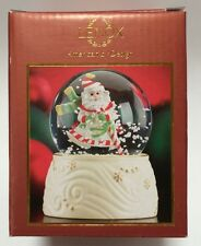 Lenox Christmas Holiday Snow Globe Santa Claus