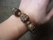 20mm Agarwood Eaglewood Chenxiang Wood - Buddhist Prayer Bead Bracelet