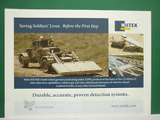 6/2011 PUB NIITEK CHEMRING GROUP GPR GROUND PENETRATING RADAR MINE DETECTION AD