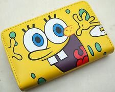 SpongeBob SquarePants Womens Kids Boys Girls Faux Leather Bifold Purse Wallet