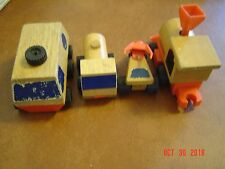 Vintage Mattel Wood Putt Putt Toys (4)
