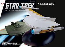 Eaglemoss Diecast Star Trek Romulan Bird-of-Prey 23rd Century #57 w/Magazine