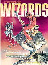 WIZARDS WIDESCREEN DVD MOVIE ANIMATION CULT CLASSIC WITH INSERT FREE SHIPPING