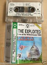 THE EXPLOITED - Live at the White House MC RARE 1'ST POLISH PRESS 1991
