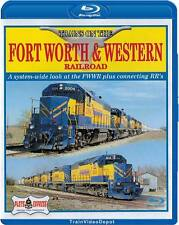Trains on the Fort Worth & Western Railroad BLU-RAY NEW Plets Express FWWR