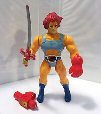 1985 LION-O (RED) • 100% COMPLETE • C7-8 • VINTAGE LJN THUNDERCATS