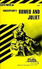 Romeo and Juliet by Cliffs Notes Staff (1960, Paperback)