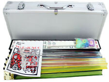 NEW 166 Tiles American Mahjong Mah jongg Set + 4 PUSHERS in ALUMINUM Case