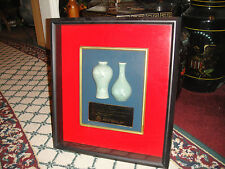 Unusual Koryo Celadon Display Case Presented By RHEE BROS INC.-Chinese Vase