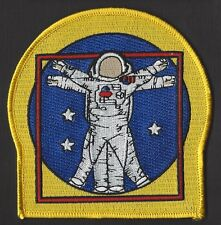 "NASA EVA ASTRONAUT SPACE WALK - Vitruvian Man - 4"" -  3 STAR PATCH MINT *****"