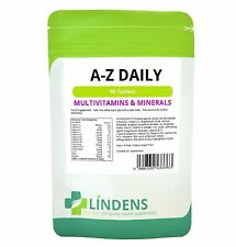 Multivitamin A-Z DAILY multivitamin supplemento Lindens 90 compresse