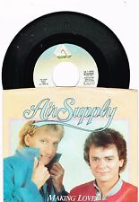 "Air Supply Making Love out  of Nothing at all/Late Again   Single W/P  7"" 45 RPM"
