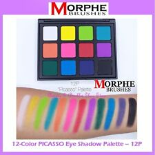 NEW Morphe Brushes 12-Color PICASSO Eye Shadow Palette 12P FREE SHIPPING BNIB
