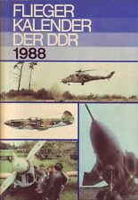Fliegerkalender der DDR 1988 (inkl. Militärtechnik/Flugzeuge/NVA/DDR)