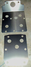 YAMAHA RHINO FRONT & REAR SKID PLATE SET 2006 thru 2013 450 660 700  WOW