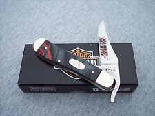 CASE XX *a 2015 HARLEY DAVIDSON SMOOTH KIRINITE LAVA RUSSLOCK KNIFE KNIVES