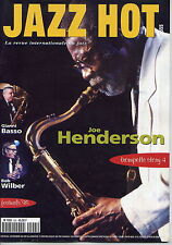 JAZZ HOT - N°555 - JOE HENDERSON