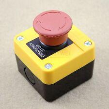 Not Aus Schalter Taster Notschalter für 660V 10A mit in rotem Knopf Wasserdicht