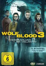 WOLFBLOOD - SEASON 3 (Bobby Lockwood) - DVD PAL Region 2 - New