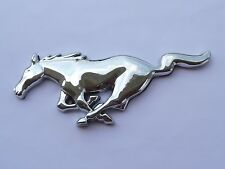 Running Horse Mustang Chrome Emblem 15 cm badge Sticker Hood Grille Trunk Door