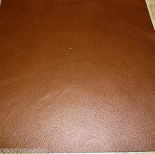 """Leather 8""""x10"""" Dark Copper UPHOLSTERY (not real soft) Cowhide 3.5 oz /1.4 mm"""
