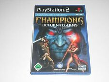 PS2 - Champions Return to Arms ** Playstation 2