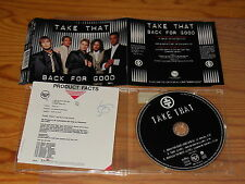 TAKE THAT - BACK FOR GOOD / 3 TRACK MAXI-CD 1995 & PROMO-INFO