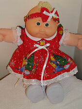 """Clothes for Cabbage Patch LULLABY BABIES & CPK 14"""" PREEMIES Christmas Pooh Bear"""