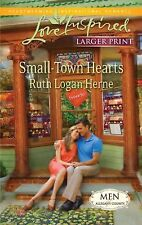 Small-Town Hearts (Love Inspired Larger Print)