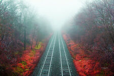 "Wall art ""Train to Arathorn"" Unframed Photo printed on Canvas 12 x 18inches"
