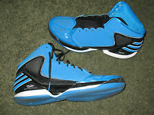 Derrick Rose Adidas Mens Size US 13 Basketball Athletic Shoes Blue & Black
