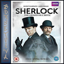 SHERLOCK - THE ABOMINABLE BRIDE - BBC 2 DISC SPECIAL EDITION  *BRAND NEW DVD***