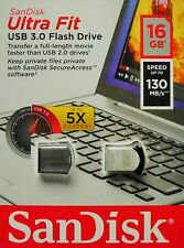 Sandisk Ultra Fit 16GB USB 3.0 USB Stick Sandisk Flash-Laufwerk SDCZ43-016G NEU