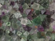 Wholesale 1000g Purple and Green Octahedral Fluorite crystals *China