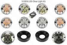 10 RDX Chiaro LED Luce Kit 8 standard Nebbia Reverse 90/110 Defender 1983 al 2001
