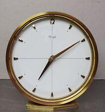 Antike Uhr hochwertige mechanische Kienzle Tischuhr massiv Messing