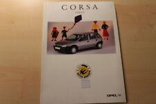 66407) Opel Corsa B Family Prospekt 04/1996