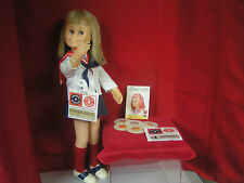 MATTEL CHARMIN CHATTY CATHY WITH PAPER WORK AND RECORDS