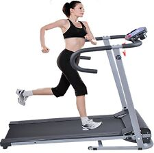 New Electric Folding Smooth Motorized Treadmill Running Walking Home Exercise