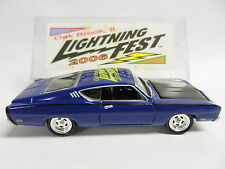Johnny Lightning Oak Brook, IL 2006 Fest 69 FORD TORINO TALLADEGA #17 of 60 (M)