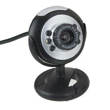 USB Camera Web Cam w/ Mic Night Vision for Desktop PC Laptop Skype BE