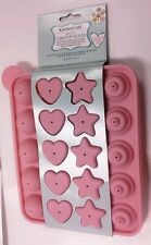 Sweetly Does It CAKE POP 20 CUORE STELLA rotondo in silicone CAKEPOP MUFFA baking sheet
