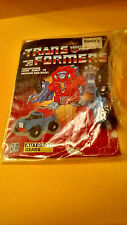Transformers G1 Lot  Vintage Gears with Cardboard Back 1980s Toys