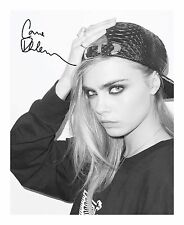 CARA DELEVINGNE AUTOGRAPHED SIGNED A4 PP POSTER PHOTO 2