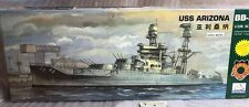 mini hobby models 1/350 80607 uss arizona bb 39 model ship kit + bonus