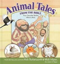 Animal Tales from the Bible: Four Favorite Stories About Jesus-ExLibrary