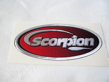 Quality Replica Scorpion Exhaust Decal ~ Gel Type ~ Heat Resistant