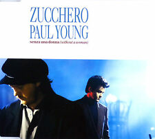 CD Maxi-zucchero-SENZA UNA DONNA (WITHOUT A WOMAN) - #a2359